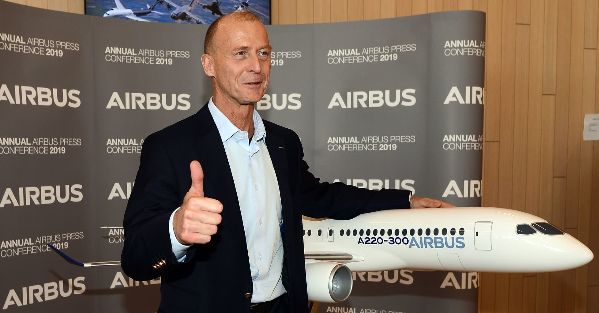 Airbus is spending tens of millions on Brexit preparations, CEO says