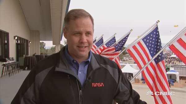 Watch NASA administrator Jim Bridenstine's full interview with CNBC