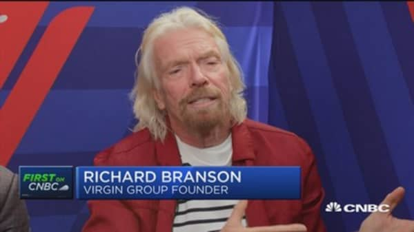 Richard Branson: Taxing the very wealthy makes sense