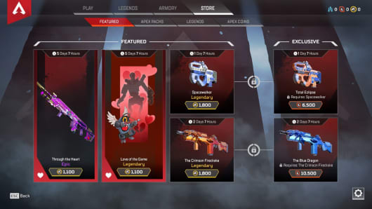 EA Apex Legends: How it makes money and how it compares to