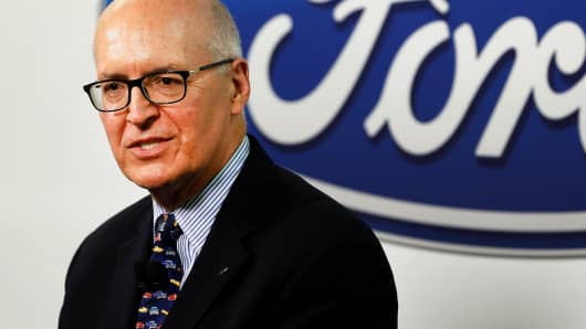 Bob Shanks, chief financial officer of Ford Motor Co.