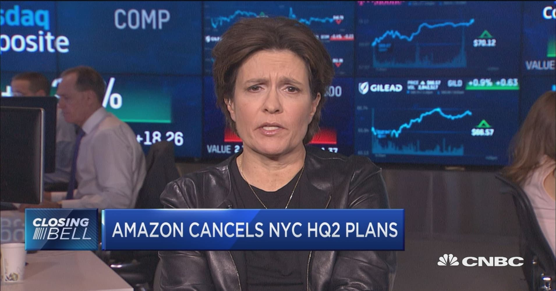 Amazon could have cooperated on new HQ2 deal, says Recode's Kara Swisher