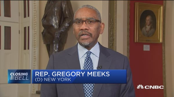 It's a sad day for New York: Rep. Meeks on Amazon