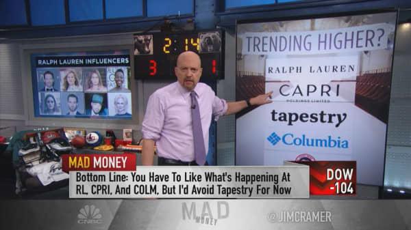 Ralph Lauren, Capri among apparel stock winners: Cramer