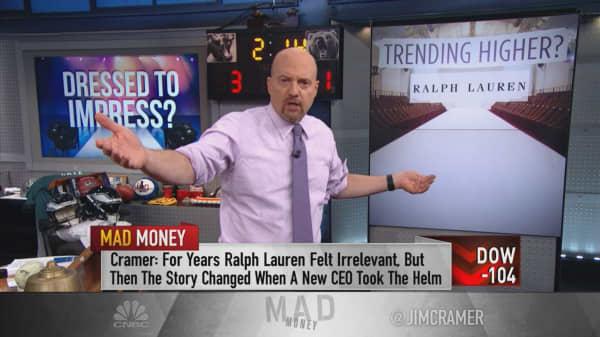 Cramer's apparel stock review counts Ralph Lauren, Capri among winners