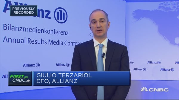 Allianz has managed headwinds and achieved record results, CFO says