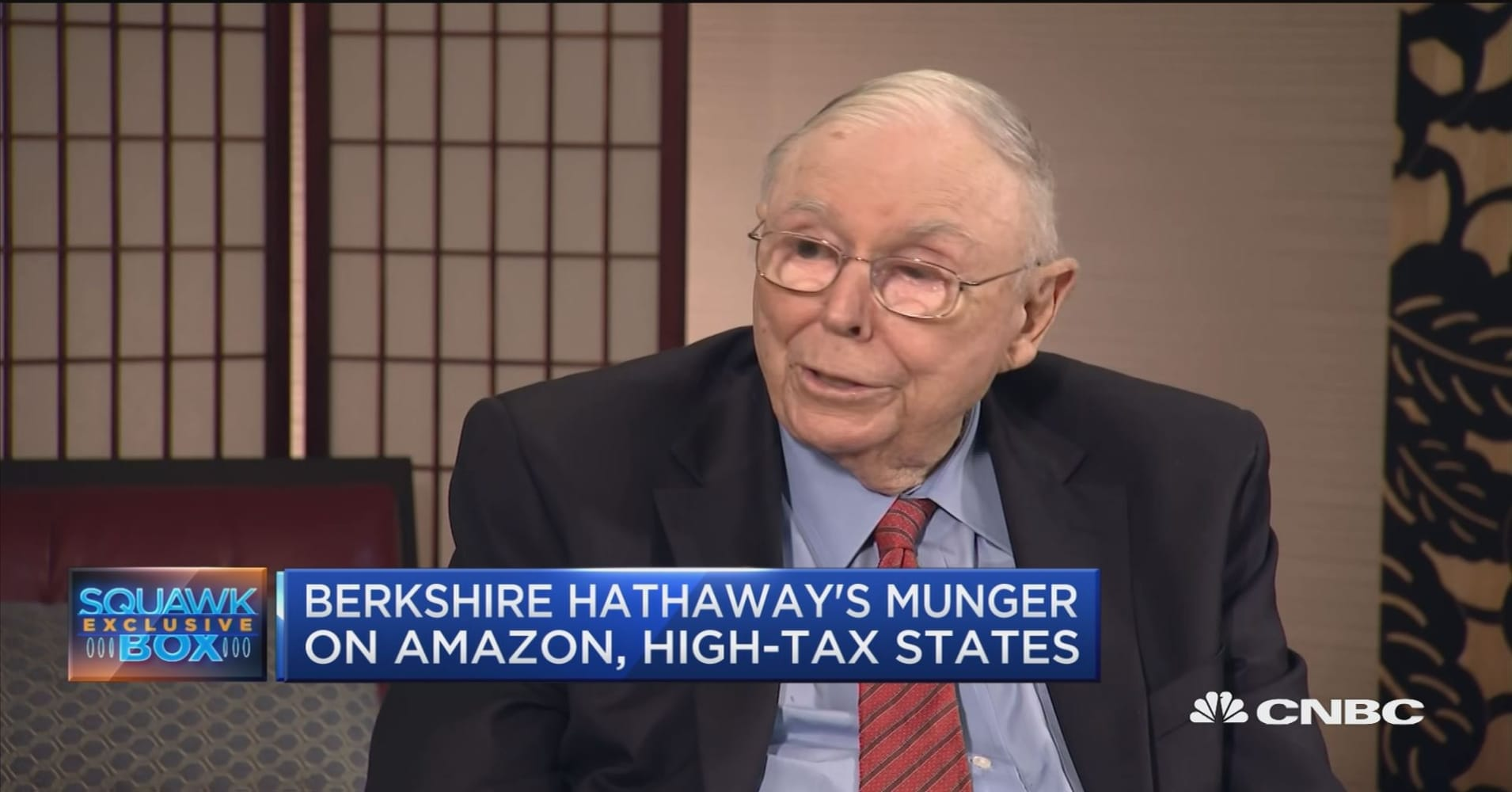 Berkshire Hathaway's Munger: High-tax states are driving out the rich