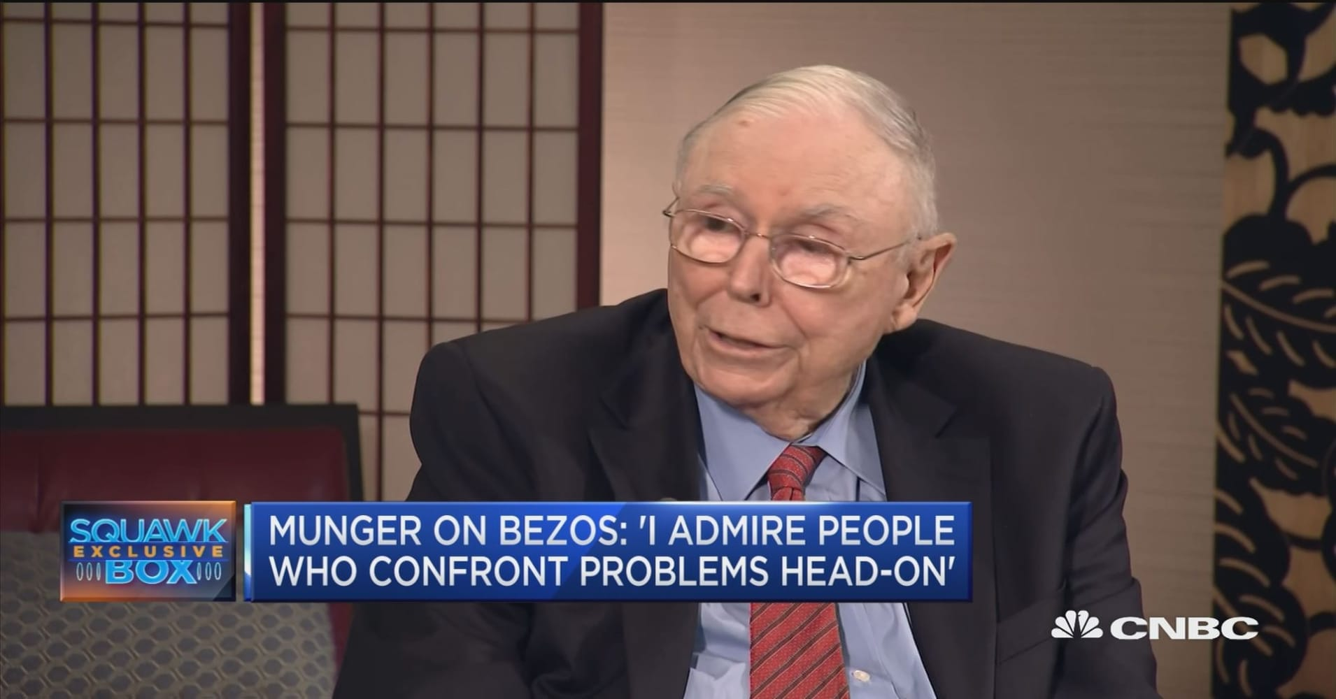 Charlie Munger on the national debt and Jeff Bezo's blackmail allegations