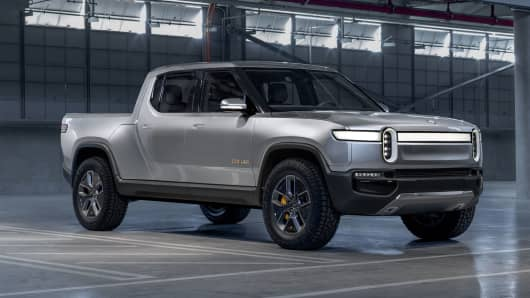 Electric Truck Start Up Rivian Announces 700 Million Investment Round Led By
