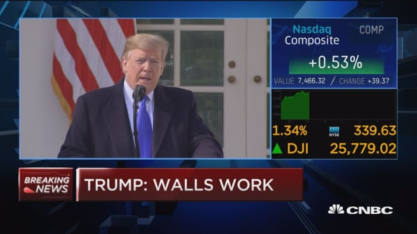 President Trump: Military leaders think wall is important