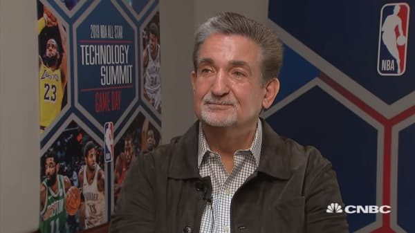 Wizards Owner Talks NBA, Commissioner, Amazon