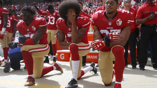 Colin Kaepernick reaches settlement in collusion case against NFL ... c2bbcec3b