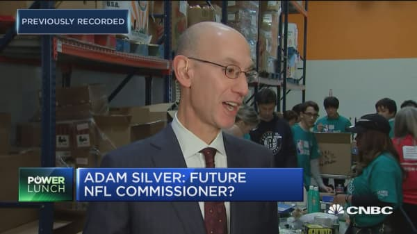 I love my job at the NBA: Commissioner Adam Silver