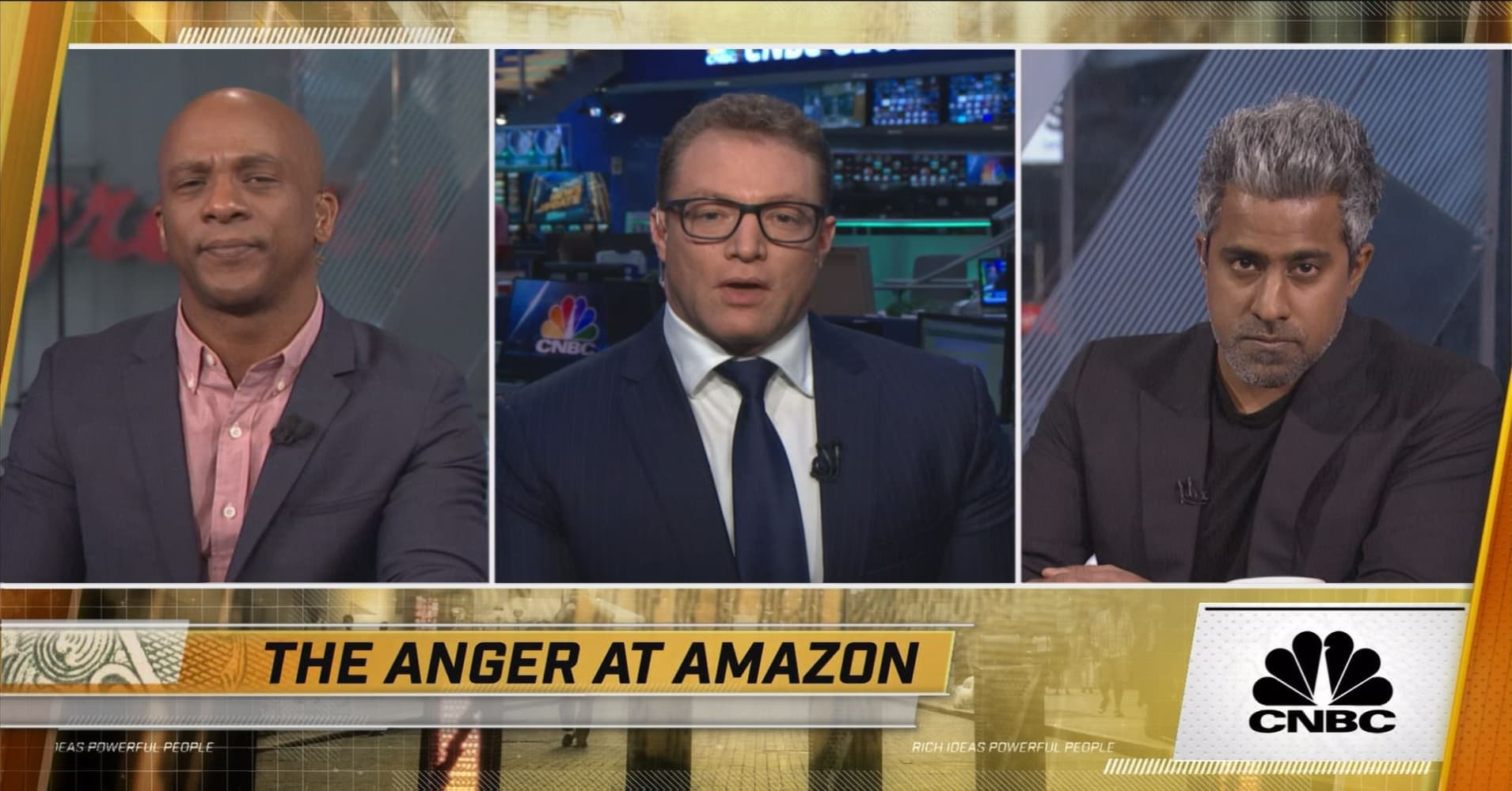 Amazon leaves NYC: Good or Bad? With Anand Giridharadas and Robert Frank