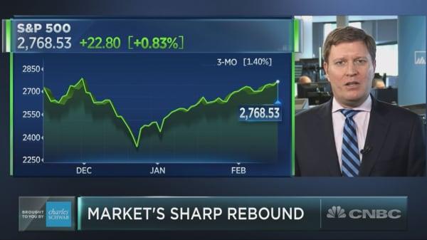 Money manager urges investors to rebalance portfolios as stocks surge