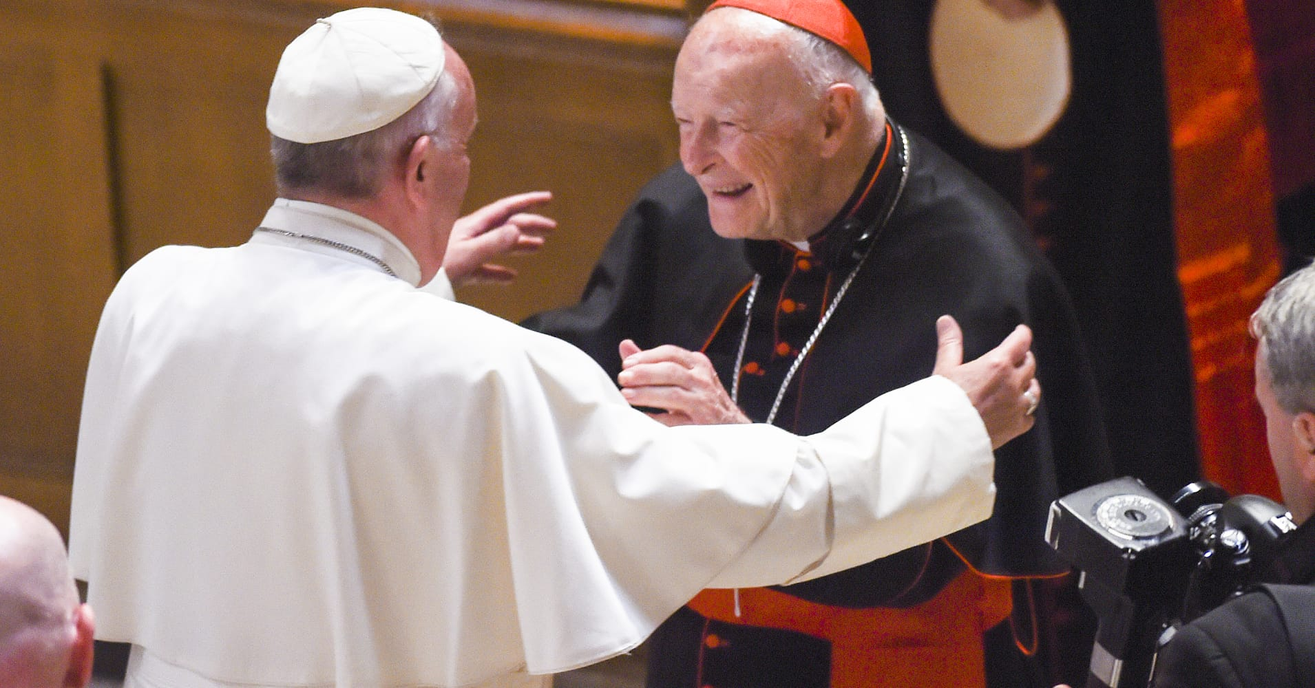 Former US cardinal Theodore McCarrick defrocked by Pope Francis over sexual misconduct allegations