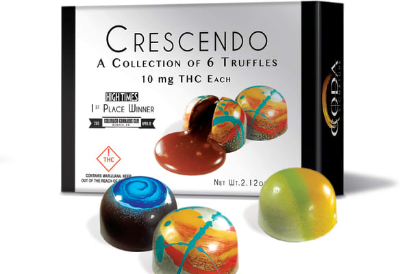 Crescendo chocolates, containing THC, were handed out to Oscar nominees in swag bags in February 2019