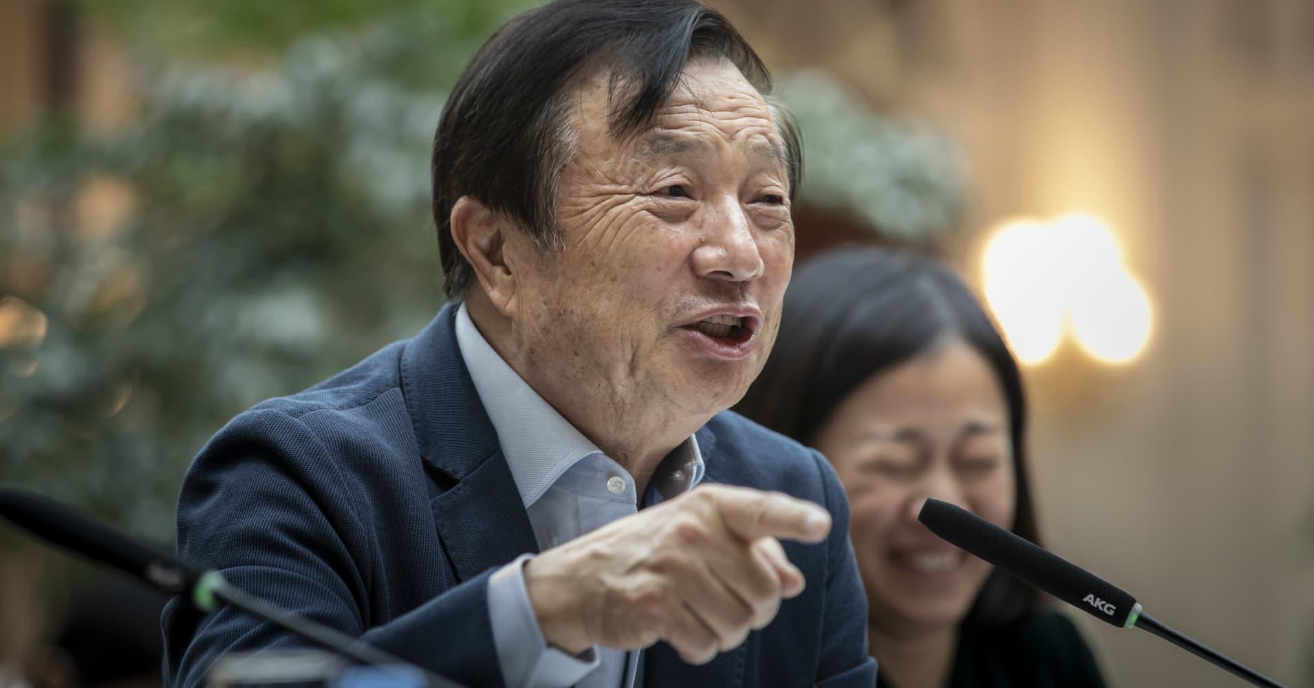 Huawei founder Ren Zhengfei says arrest of CFO Meng Wanzhou is politically motivated
