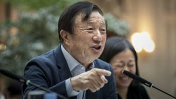 Ren Zhengfei, founder and chief executive officer of Huawei Technologies Co., speaks during an interview at the company's headquarters in Shenzhen, China, on Tuesday, Jan. 15, 2019.