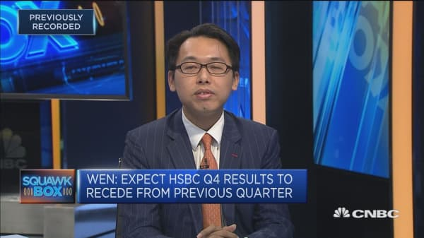 Strategist: Expect more share buybacks from HSBC
