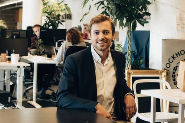 Max Friberg, co-founder and CEO, Inex One