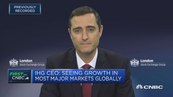IHG CEO: Seeing growth in most major markets