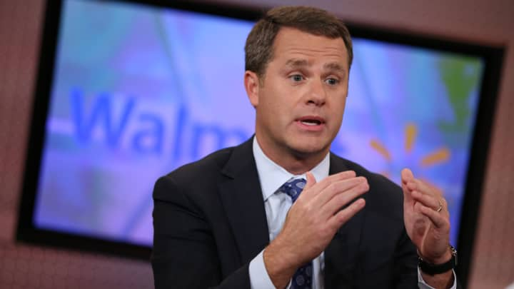 Walmart CEO Doug McMillon to become Business Roundtable chairman