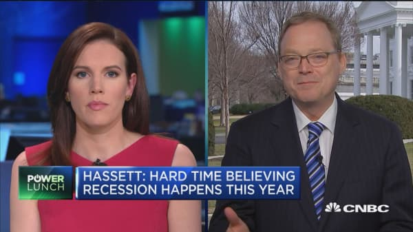 Hassett: We're going to have another 3 percent this year
