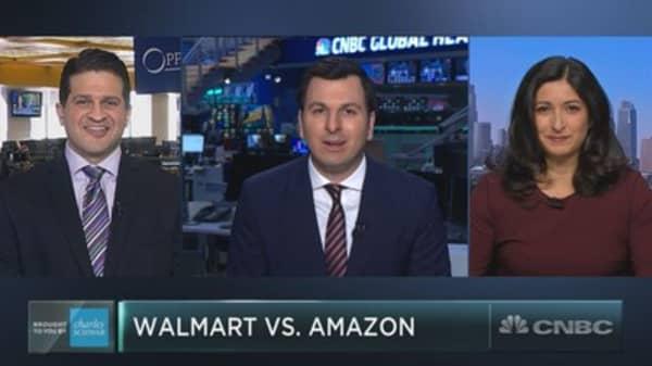 Walmart is winning the retail war against Amazon