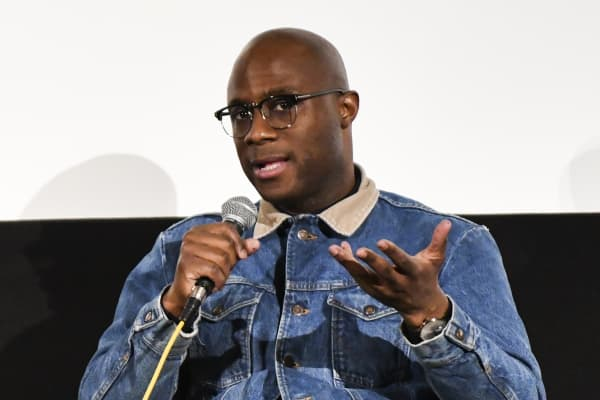 Director Barry Jenkins speaks at a special screening of 'If Beale Street Could Talk' at Aero Theatre on January 14, 2019 in Santa Monica, California.