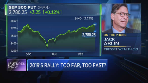 Investors will have to cope with a sloppy market, investor Jack Ablin says