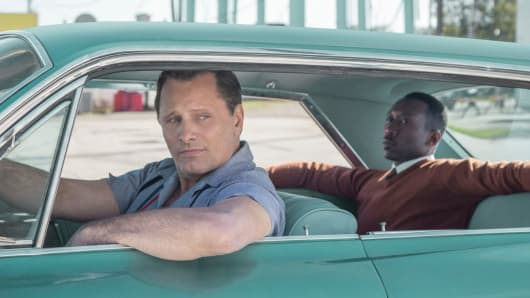 "A still from the movie ""Green Book."""