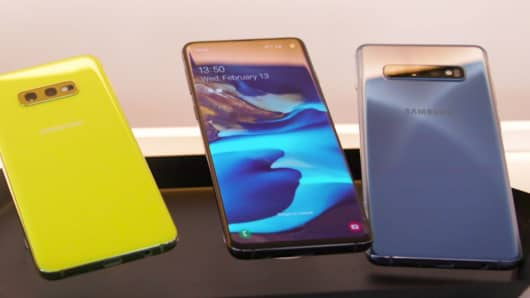 The Galaxy S10 family.