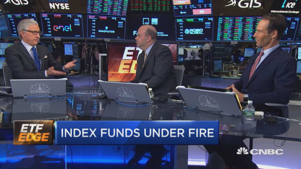 Index funds under fire