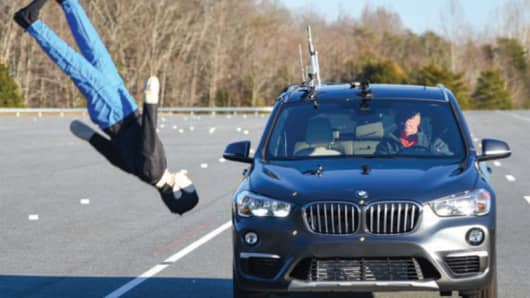 Pedestrian crash avoidance systems pass tests, with one notable exception