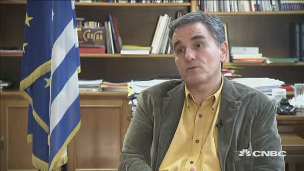 Greek finance minister: Our debt is in a very good position?