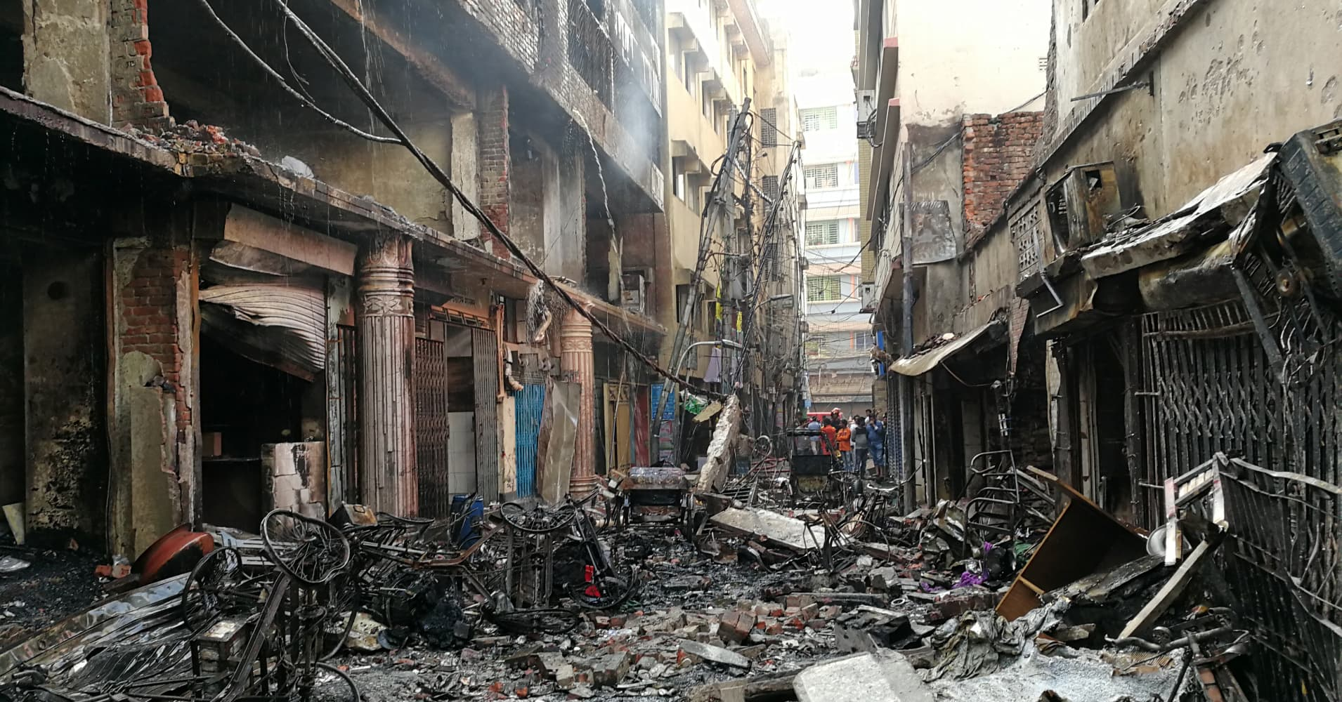 Bangladesh building fire kills at least 70, death toll could climb