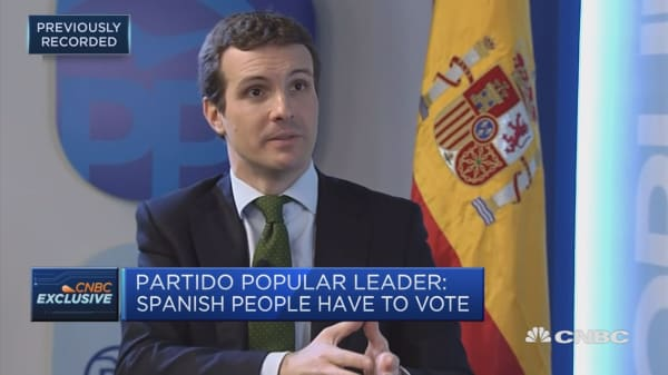 Spanish People's Party leader: PM should