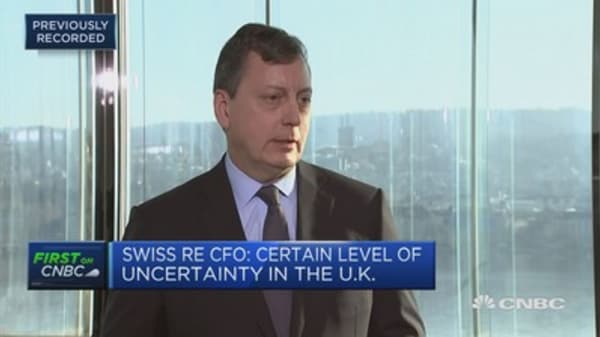 Swiss Re CFO: Asia continues to be a place of strong growth for us