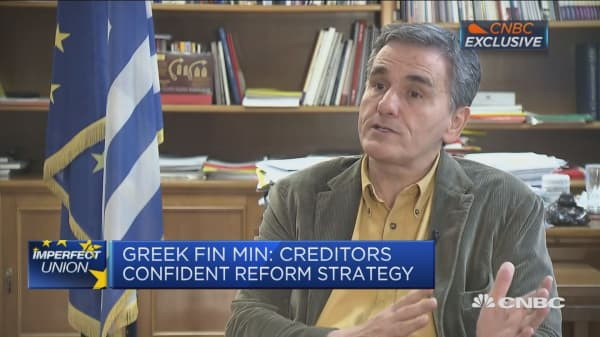 Greek finance minister: Reforms will be ready to unlock fresh EU funds