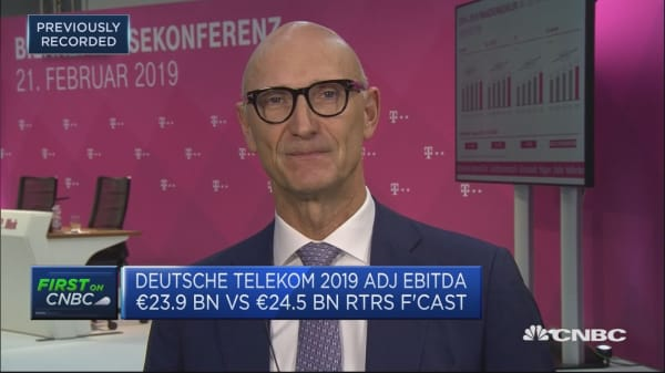 Deutsche Telekom expects earnings growth to slow in 2019