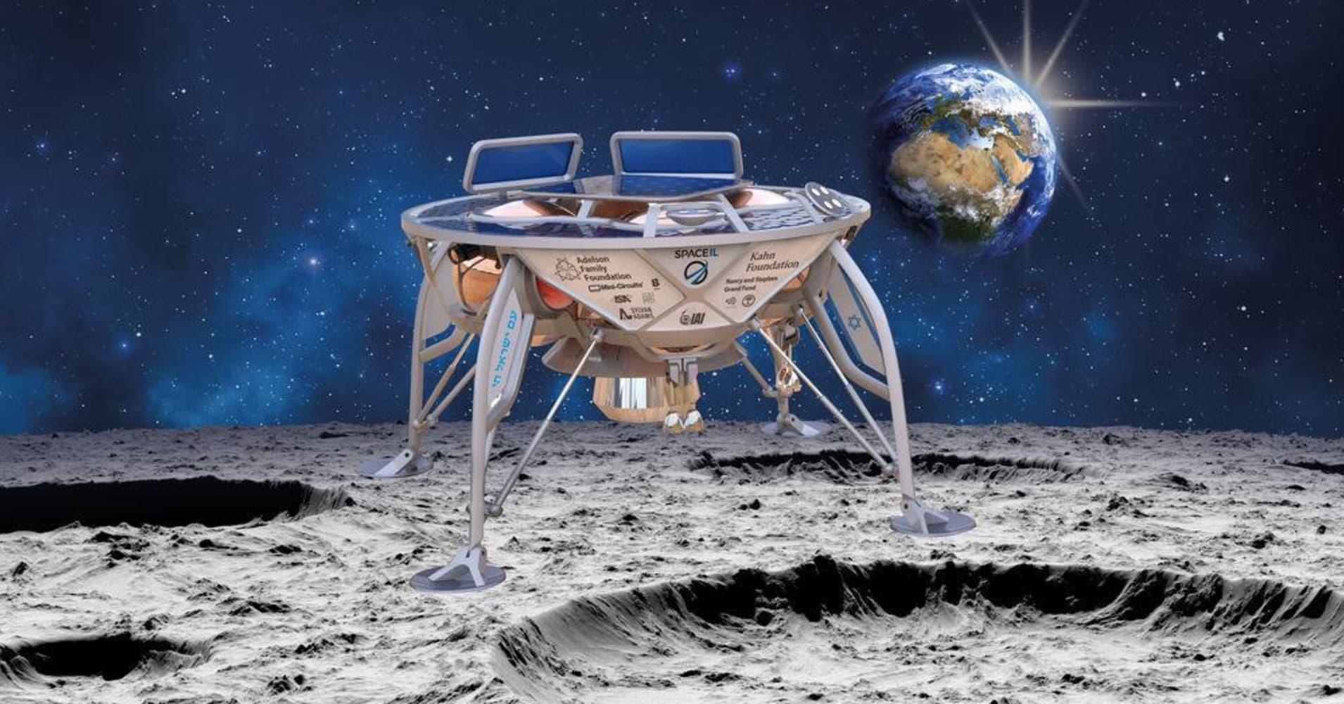 SpaceX powering Israeli spacecraft in first privately-funded moon mission