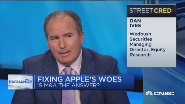 A gaming acquisition could help Apple grow, says Dan Ives