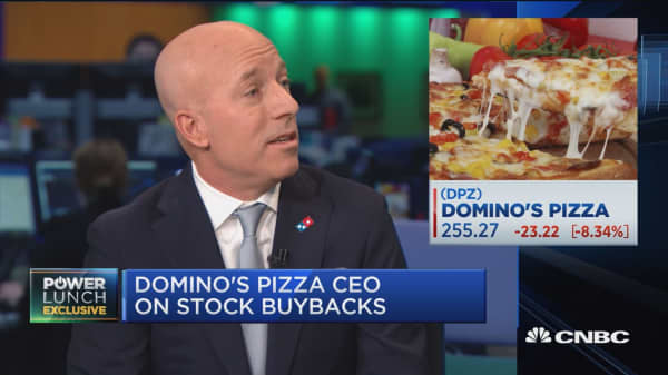 Watch CNBC's full interview with Domino's CEO Ritch Allison