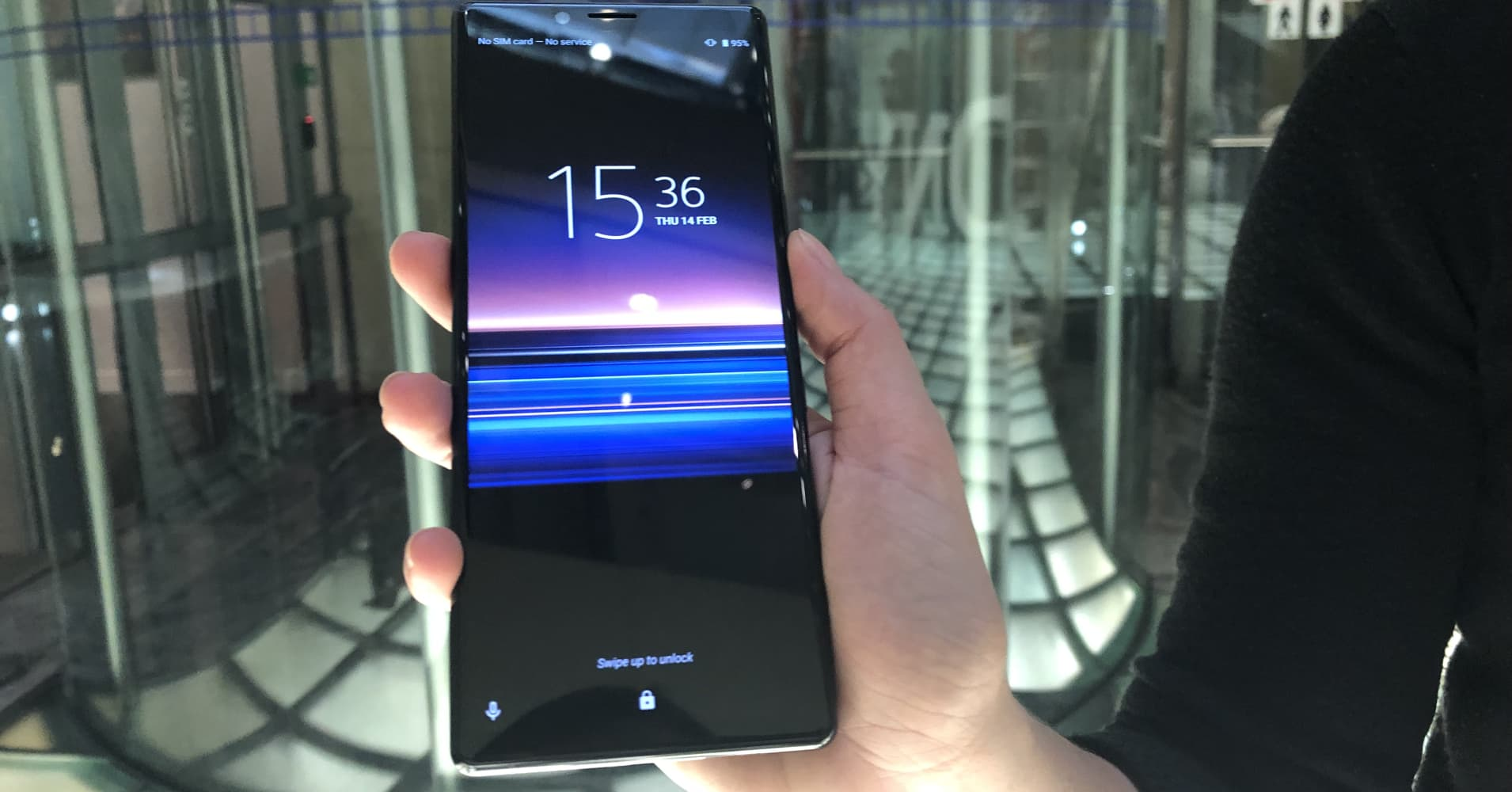 Sony launches new phones with movie theater-style screens