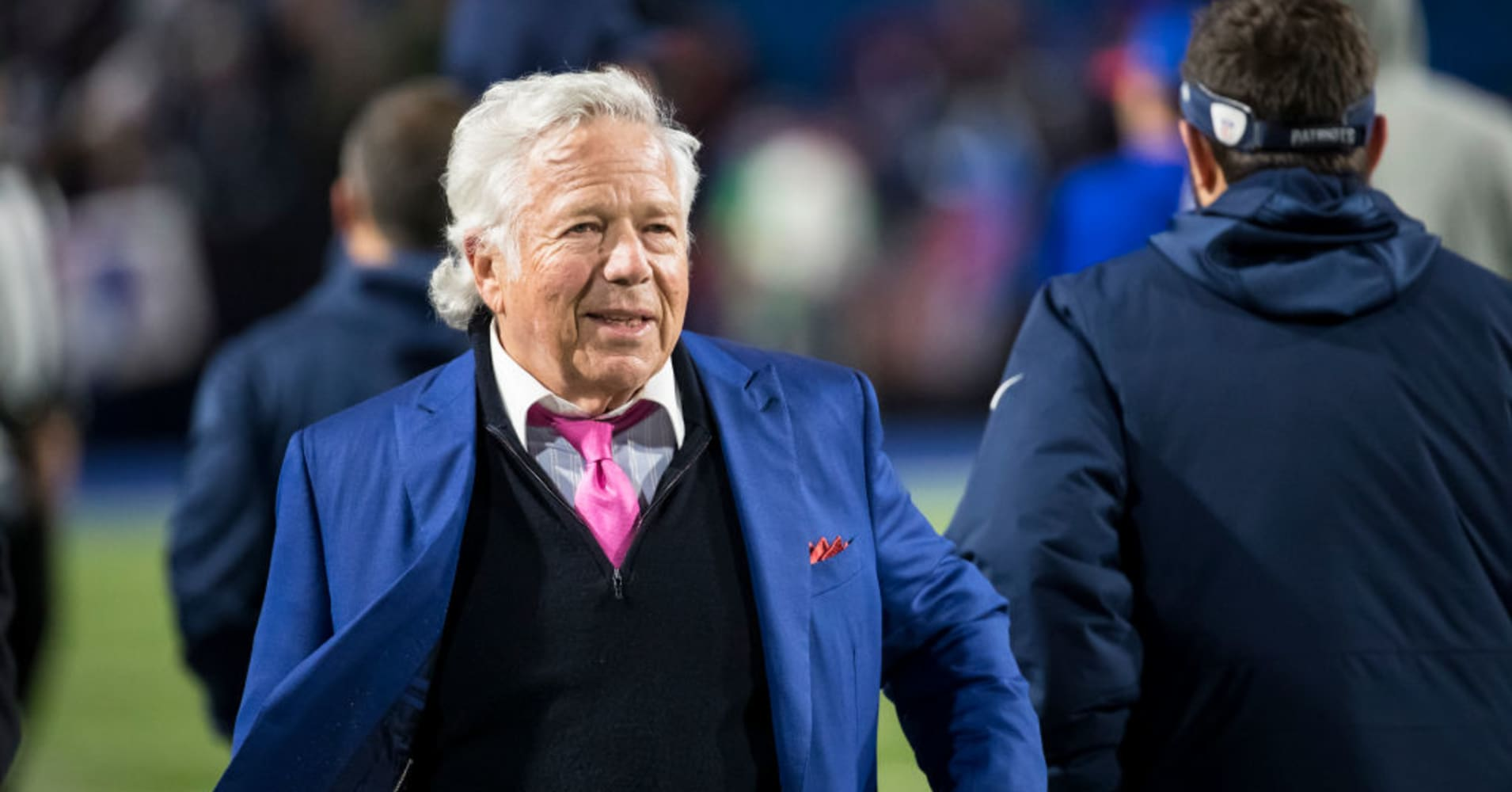 New England Patriots owner Robert Kraft charged with soliciting prostitution in human trafficking probe