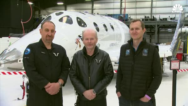 Watch CNBC's full interview with Virgin Galactic's astronauts