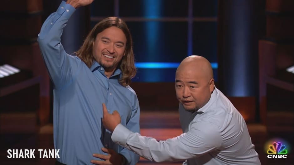 Here's what really surprised the co-founders of Thompson Tee on 'Shark Tank'