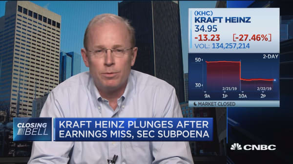 Kraft Heinz needs to reconnect with the consumer, says Alantra's Jeff Robards