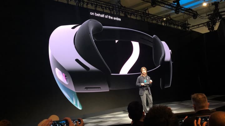 Microsoft launches HoloLens 2 at Mobile World Congress in Barcelona